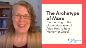 Click to watch Archetype of Mars